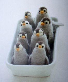 Penguins in a dish