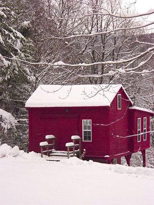 Red snow studio