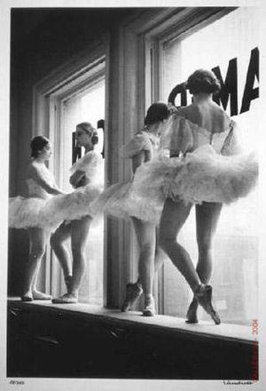 Eisenstaedt_alfred_Future Ballerinas - American Ballet Theater 1937_L