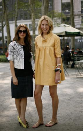 Yellow smock cropped