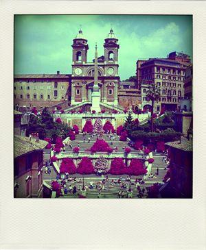 RomePiazza_di_SpagnaPolaroid