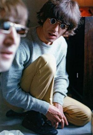 John and george cropped