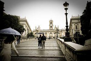 Rome umbrellas