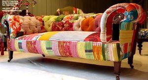 Squint patchwork sofa