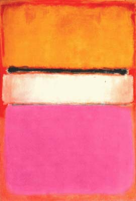 Rothko white center