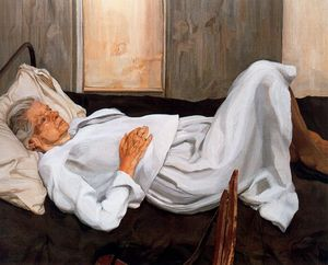 Freud-painter-s-mother-1984
