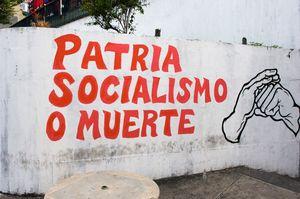 LetteringPatria-socialismo-o-muerte