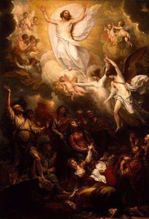 Ascension - Benjamin West - 1801