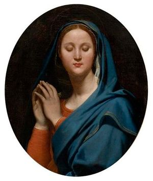 IngresVirgin-of-the-blue-veil1827