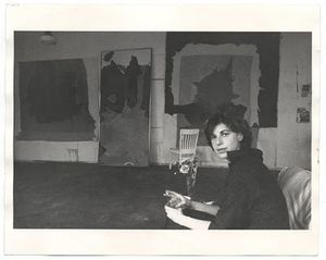 Helen frankenthaler black and white