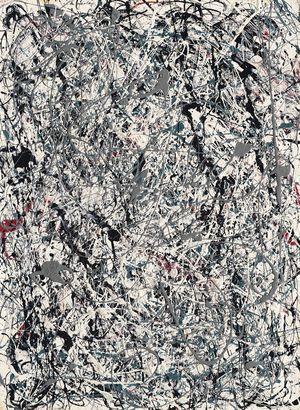 Jackson Pollock Number 19 1948