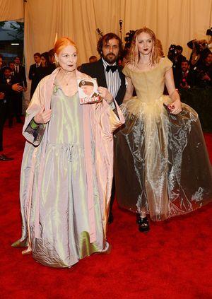 Vivienne Westwood at the Met Ball