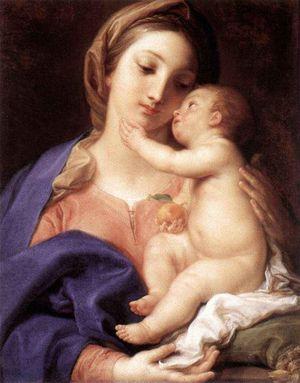 Batoni Pompeo Madonna and Child