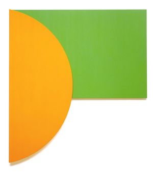 Kelly-Ellsworth-Orange-Relief-with-Green-1991