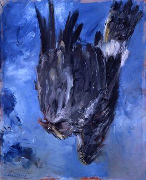 Baselitz_FingermalereiIII_Adler