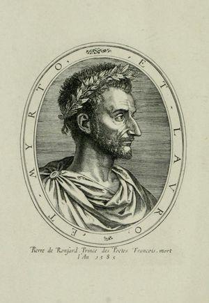 Ronsard-engraving