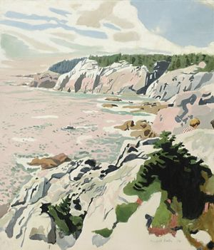 Fairfield porter 1974
