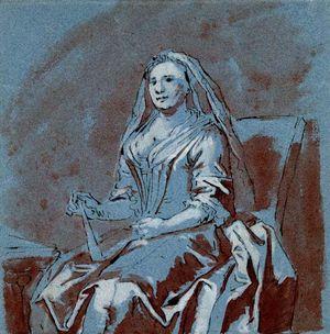 Amigoni-Jacopo-A-Widowed-Lady-18c-drawing-BM