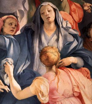 Pontormo-Jacopo-Capponi-Deposition-detail-c1528-panel-Santa-Felicità-C