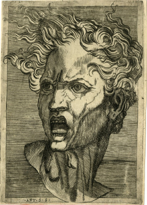 Salamanca-Antonio-after-Michelangelo-drawing-Damned-Soul-c1530-62-engraving-British-Museum