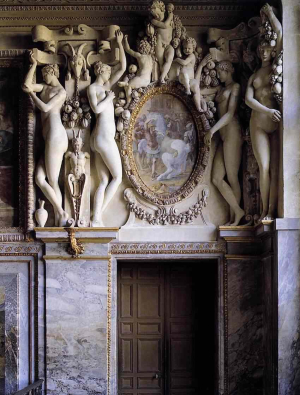 Primaticcio-Francesco-Royal-Staircase-1530s-Fontainebleau