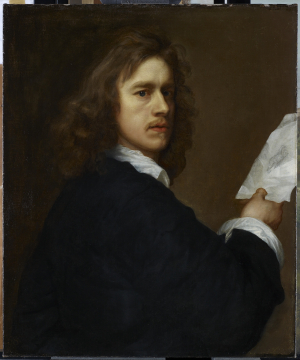 Walker-Robert-Self-Portrait-c1645-canvas-Royal-Collection