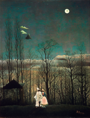 Rousseau-Henri-Carnival-Evening-1886-canvas-Philadelphia-Museum-of-Art