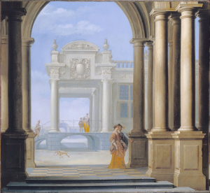 Van-Delen-Dirck-Entrance-to-a-Palace-1654-oil-on-panel-Dulwich-Picture-Gallery-London