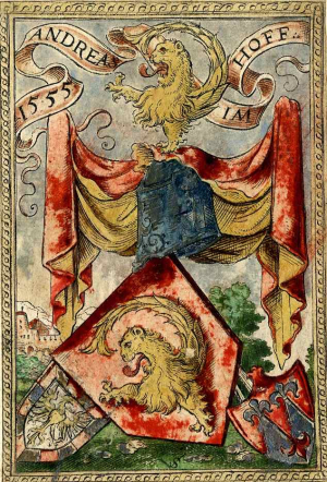 Solis-Virgil-Bookplate-for-Andreas-Imhoff-1555-hand-colored-engraving-British-Museum
