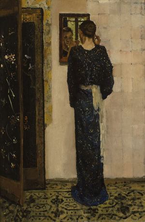 Breitner-George-Hendrik-The-Earring-1893-oil-on-canvas-Museum-Boijmans-Van-Beuningen-Rotterdam