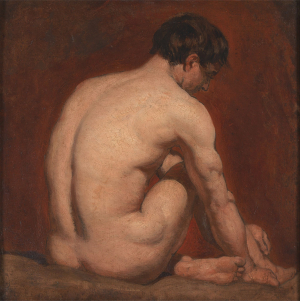 Etty-William-Académie-c1840-oil-on-panel-Yale-Center-for-British-Art-square