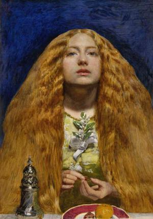 Millais-John-Everett-The-Bridesmaid-1851-oil-on-panel-Fitzwilliam-Museum-Cambridge