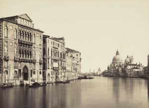 Ponti-Carlo-Venice-Distant-view-of-Santa-Maria-della-Salute-c1850-albumen-print-National-Galleries-of-Scotland
