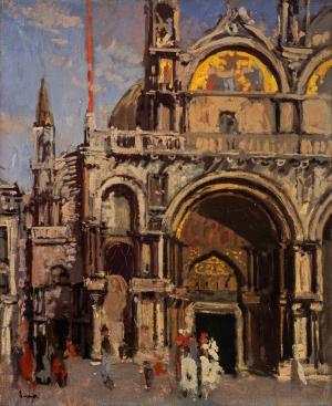 Sickert-Walter-Corner-of-St-Mark's-Venice-c1901-oil-on-canvas-National-Galleries-of-Scotland