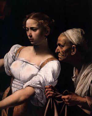 Caravaggio-Judith-Beheading-Holofernes-detail