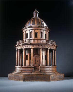 Bramante-Donato-Tempietto-model