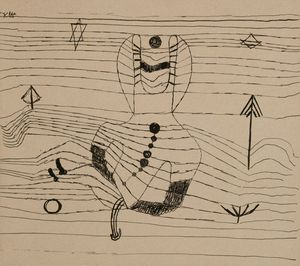 Klee-Paul-Rider-Unhorsed-&-Bewitched-1920-drawing-Met