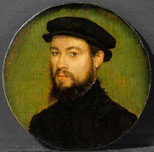 Corneille-de-Lyon-attributed-Portrait-of-a-man-c1545-Met