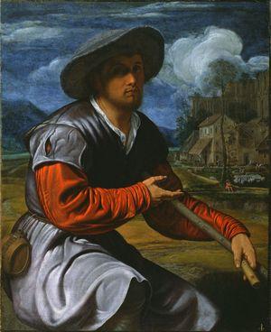 Savoldo-Giovanni-Girolamo-Shepherd-with-Flute-c1525-Getty