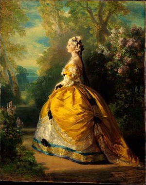 Winterhalter-Franz-Xaver-Empress-Eugénie-1854-Met