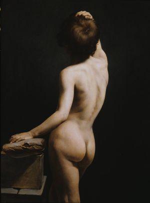 Vernet-Horace-Académie-c1807-1810-canvas-Princeton-c