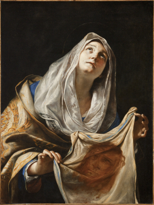 Preti-Mattia-St-Veronica-with-the-Veil-c1655-60-canvas-LACMA