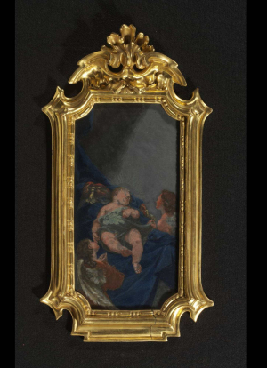 Cornacchini-Agostino-Sleeping-Christ-Child-1727-wax-on-slate-V&Ac