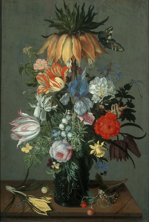 Bosschaert-Johannes-Flower-still-life-with-Crown-Imperial-1626-oil-on-panel-Centraal-Museum-Utrecht