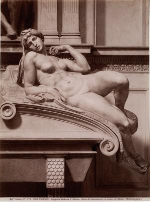 Fratelli-Alinari-Dawn-Michelangelo-Medici-Chapel-Florence-c1860-90-albumen-silver-print-National-Gallery-of-Canada