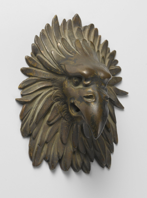 Italy-bronze-Eagle-Head-as-door-knocker-c1500-1600-Rijksmuseum-c