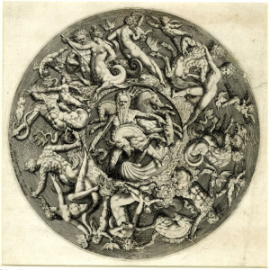 Van-Tetrode-Willem-after-Neptune's-Kingdom-design-for-interior-of-bowl-1587-engraving-by-Jacques-de-Gheyn-II-British-Museum