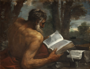 Mola-Pier-Francesco-St-Jerome-c1650-oil-on-canvas-National-Galleries-of-Scotland