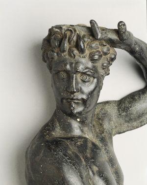 Cellini-Benvenuto-Satyr-bronze-c1545-B