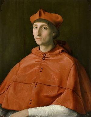 Raphael-Unidentified-Roman-Cardinal-1510-11-Prado